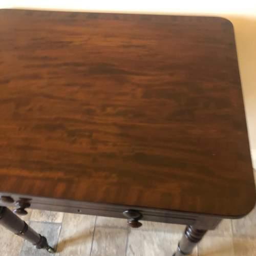 Regency Mahogany Lamp Table image-3