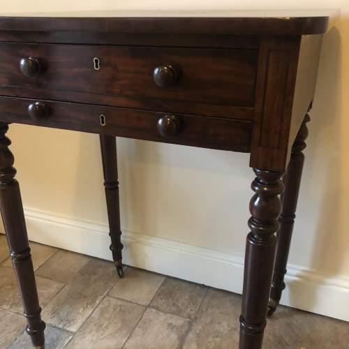 Regency Mahogany Lamp Table image-4