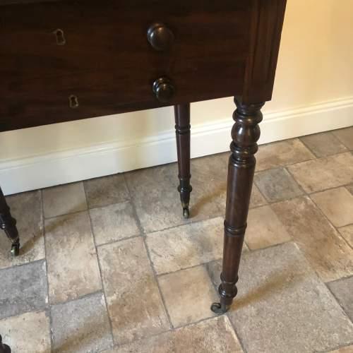 Regency Mahogany Lamp Table image-6
