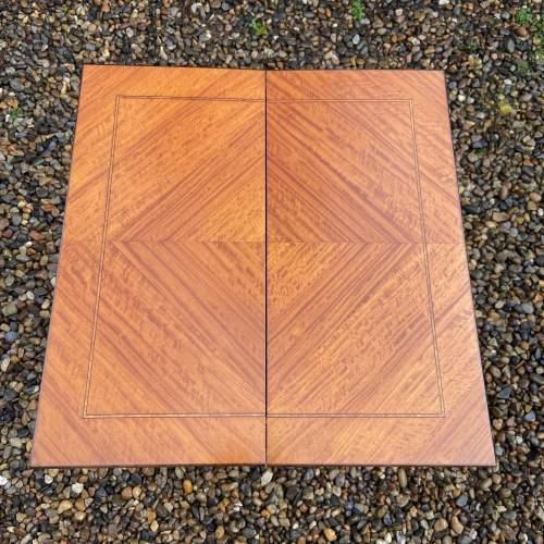 Lovely Edwardian Inlaid Satinwood Sewing Box image-3