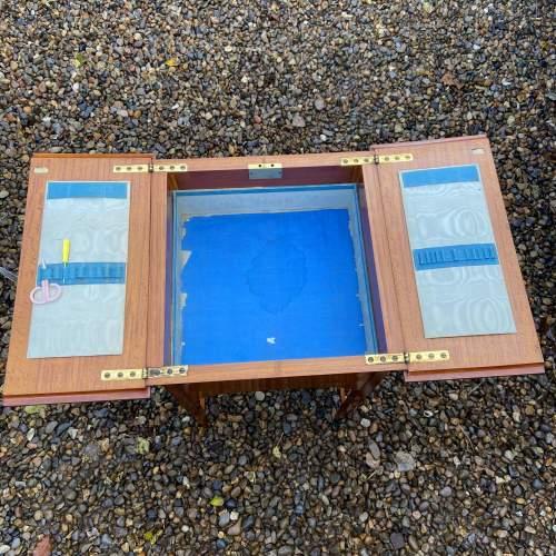 Lovely Edwardian Inlaid Satinwood Sewing Box image-4