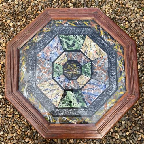 Very Decorative Octagonal Top Table image-2