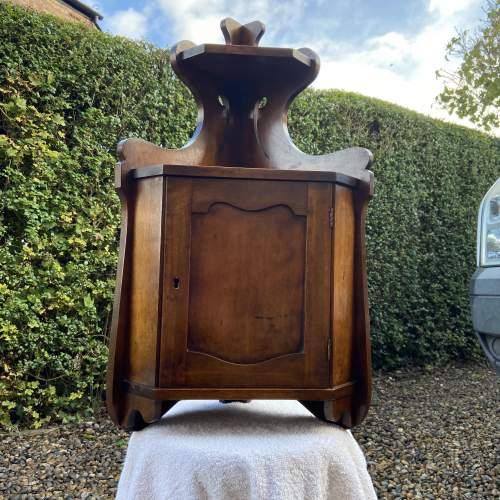 Small Victorian Hanging Corner Cabinet image-4