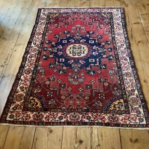 Old Hand Knotted Persian Rug Tafrish Superb Quality And Design