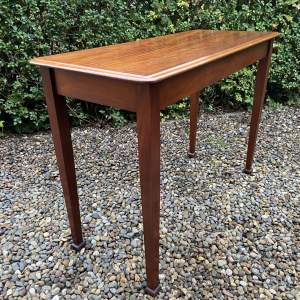 Edwardian Mahogany Side or Hall Table