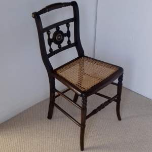 19th Century Stained Beech Side Chair