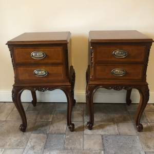 Pair of 20th Century Bedside Cabinets
