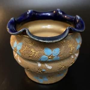 Victorian Period Royal Doulton Posy Vase