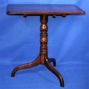 19th Century Mahogany Pedestal Table