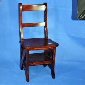 Good Quality Hardwood Metamorphic Chair Library Steps