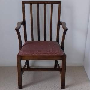 Oak Elbow Dining Carver Chair