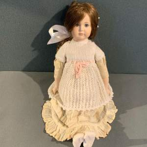 20th Century Porcelain Bisque Doll