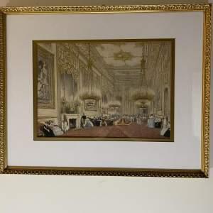 A Room of Grandeur Print of a Victorian Palatial Setting