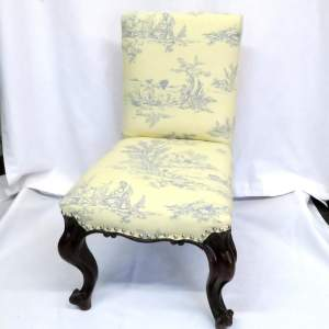 Victorian Rosewood Childs Chair