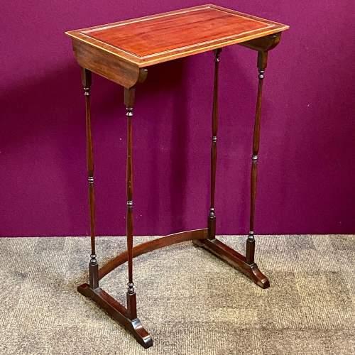 Late 19th Century Nest of Mahogany Tables image-4