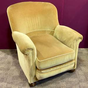 Early 1900s Upholstered Chair by A Mollis