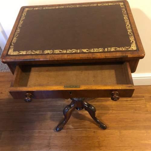 Victorian Walnut Side Table image-2