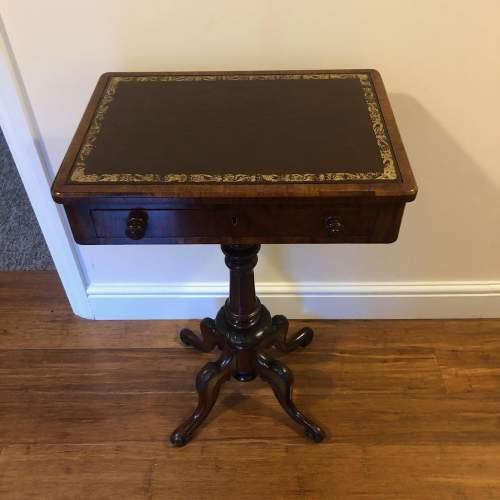 Victorian Walnut Side Table image-4