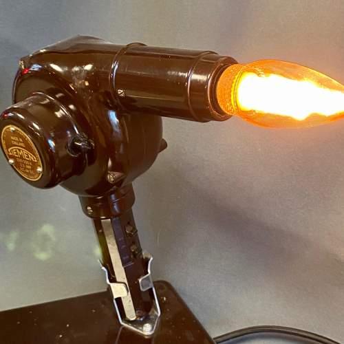 Vintage Bakelite Hairdryer Upcycled Lamp image-2