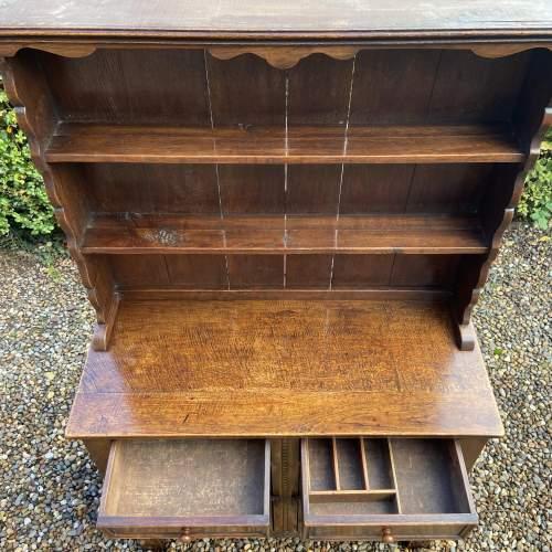 1930s Carved Oak Dresser image-5