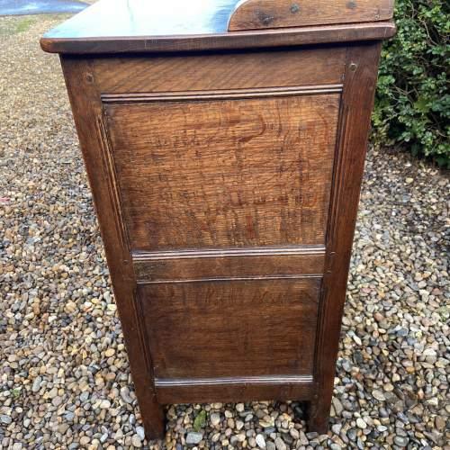 1930s Carved Oak Dresser image-4