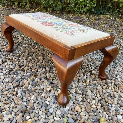 Tapestry Top Footstool image-3