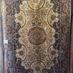 Stunning Hand Knotted Lahore Rug Floral Design Superb Quality