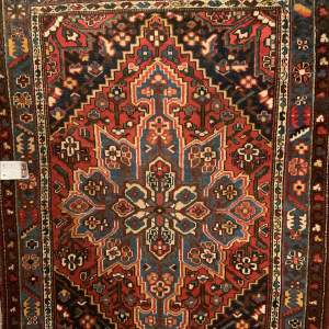 Superb Old Hand Knotted Persian Baktihari Lovely village Piece