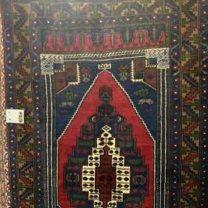 Superb Old Hand Knotted Turkish Rug Yalahili Stunning Colours