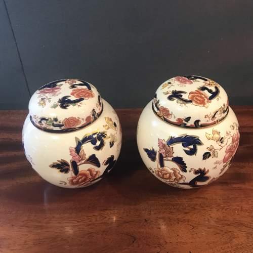 A Pair of Masons Ironstone Ginger Jars image-2