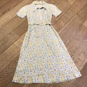 1940s Summer Dress and Sun Hat
