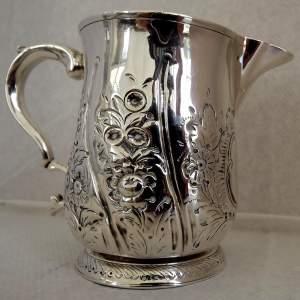 Georgian Silver London 1790 Half Pint Tankard Jug by Thomas Wallis