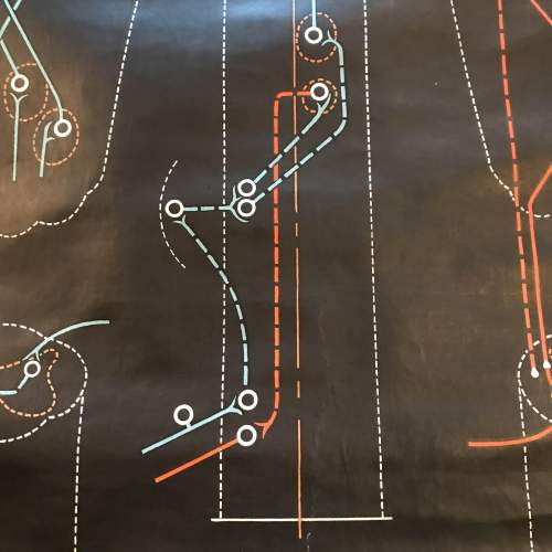 A Large Engineering Chart 1948 Signed P Sougy image-6