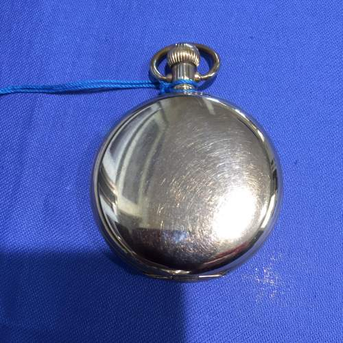 Full Hunter Gold Plated Pocket Watch By Waltham image-2