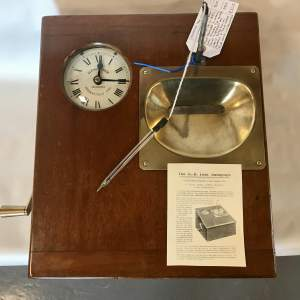 Time Recording Machine by Gledhill Brooks of Huddersfield England
