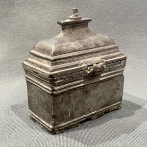 Early 18th Century Travelling Holy Water Casket