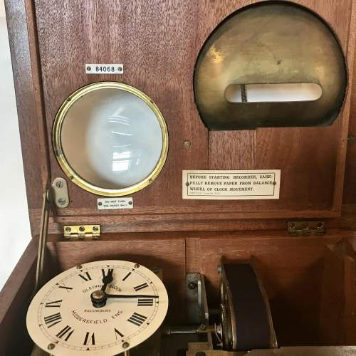 Time Recording Machine by Gledhill Brooks of Huddersfield England image-5