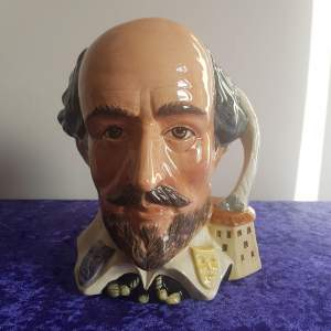 Royal Doulton William Shakespeare Character Jug
