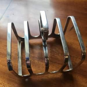 A Silver Toast Rack
