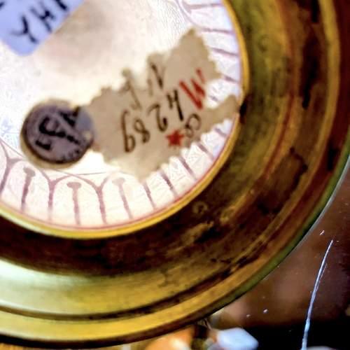 Very Fine Acid Etched Baccarat Glass Vase image-3