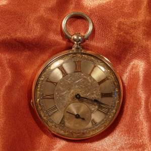 Silver Pocket Watch by Geneve