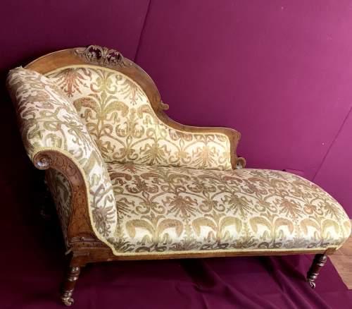 Superb Victorian Chaise Longue image-4