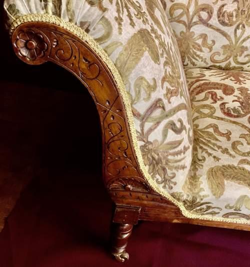 Superb Victorian Chaise Longue image-5