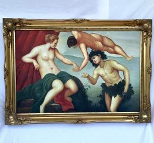 Classical Painting - Oil on Canvas