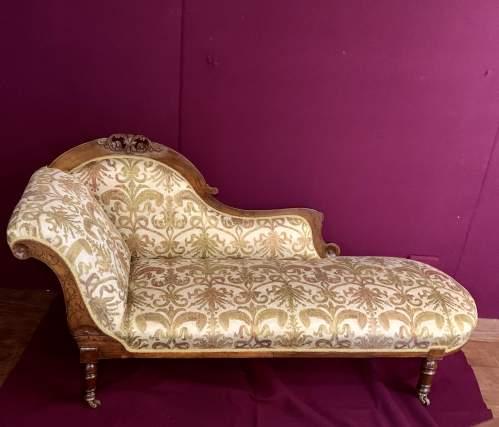 Superb Victorian Chaise Longue image-2