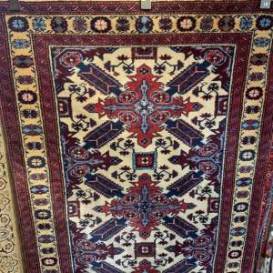 Superb Old Hand Knotted Persian Rug Afshar Village Piece