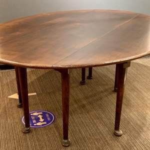 Solid Oak Drop-Leaf Wake Table