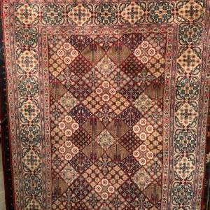 Superb Quality Hand Knotted Persian Rug Jozan Floral Design