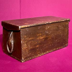 Early 19th Century Ships Trunk