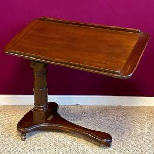 Late 19th Century Adjustable Reading Table